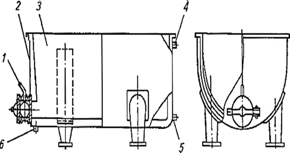 схема Ванна для сквашивания ВК-2,5