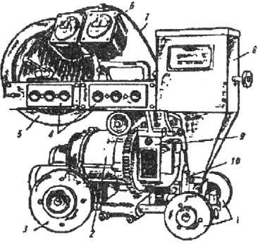 сварочный трактор ТС-17М