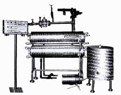 Трубчатая пастеризационная установка