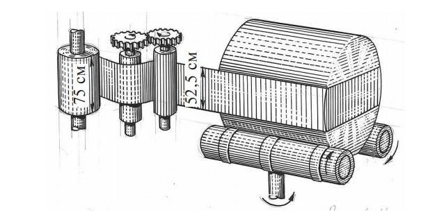 устройство для герметичной упаковки рулонов в пленку