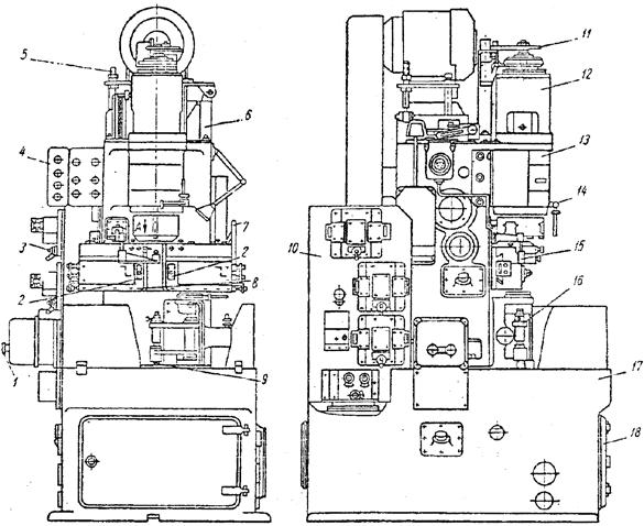 Вертикально-отрезной автомат модели 1125-0