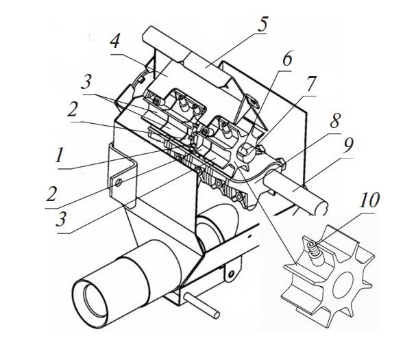 Высевающий аппарат агрегата АПП-6А