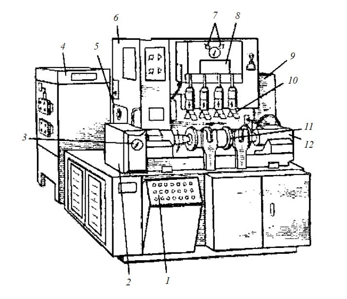 Центровой суперфинишный автомат