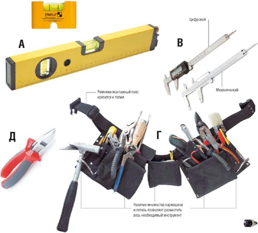 Электромонтажный инструмент