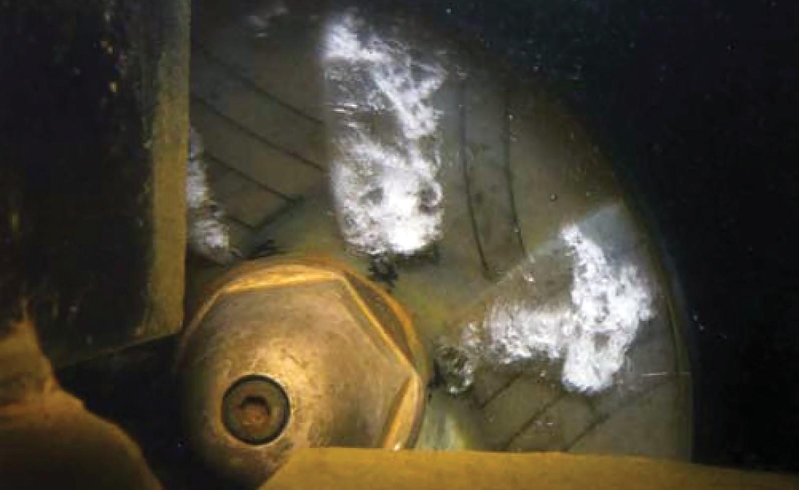 Кавитация на входе в рабочее колесо насоса