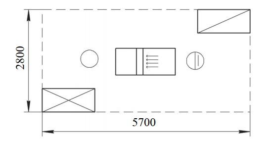 Организация рабочего места у одностороннего фуговального станка с механической подачей СФК6