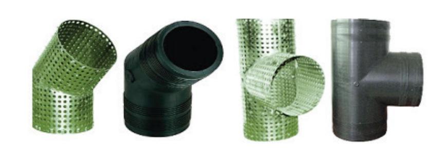 Полимерно-армированные фасонные части