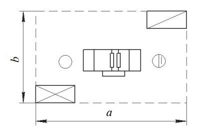 Схема организации рабочего места у двустороннего рейсмусового станка