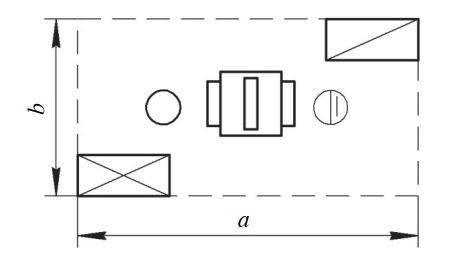Схема организации рабочего места у одностороннего рейсмусового станка
