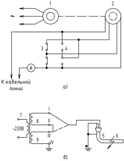 схемы прожигания на переменном токе
