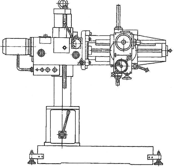 Станок радиально-сверлильный мод. 2К52-1
