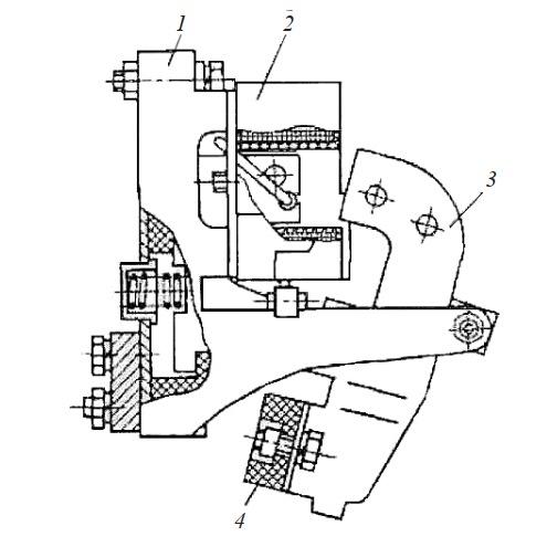 Трехполюсный контактор переменного тока