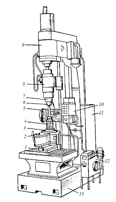 Вертикальный хонинговальный автомат