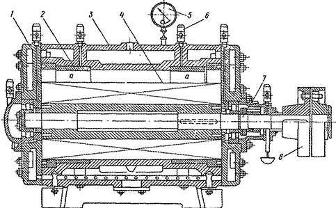 Вид пластинчитового компрессора